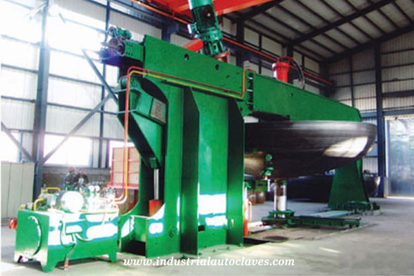8m spinning machine for Wood Autoclave