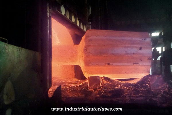 forging furnace for Hemispherical Head