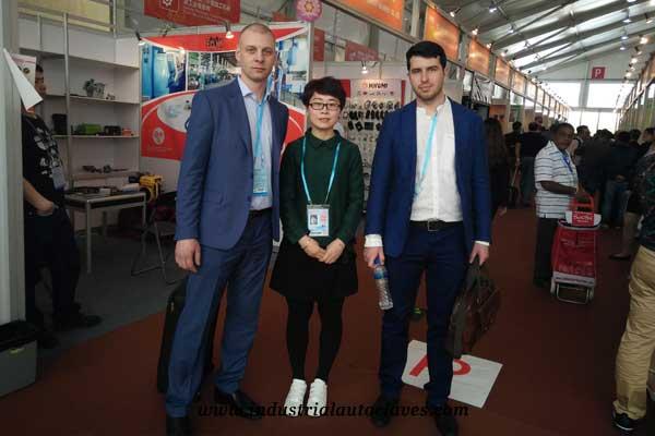 industrial autoclave customer from Ukraine