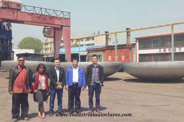 vessel head customer from Indonesia