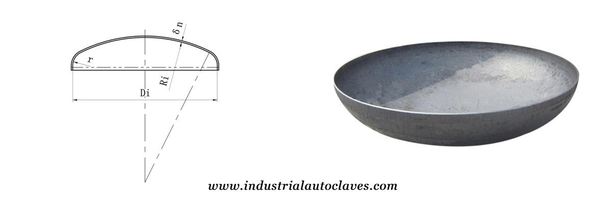 torispherical dish end of strength equipments