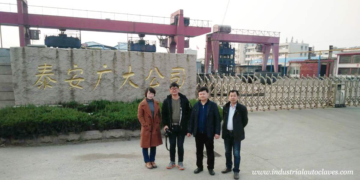 Malaysia Customers Visited Our Elliptical Dish Factory