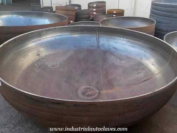 India Customer Showed Great Interest In Torispherical Dish