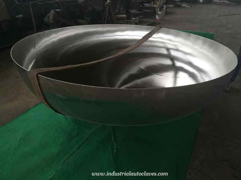 Pakistan Customer Showed Interested In Tank Dome Ends