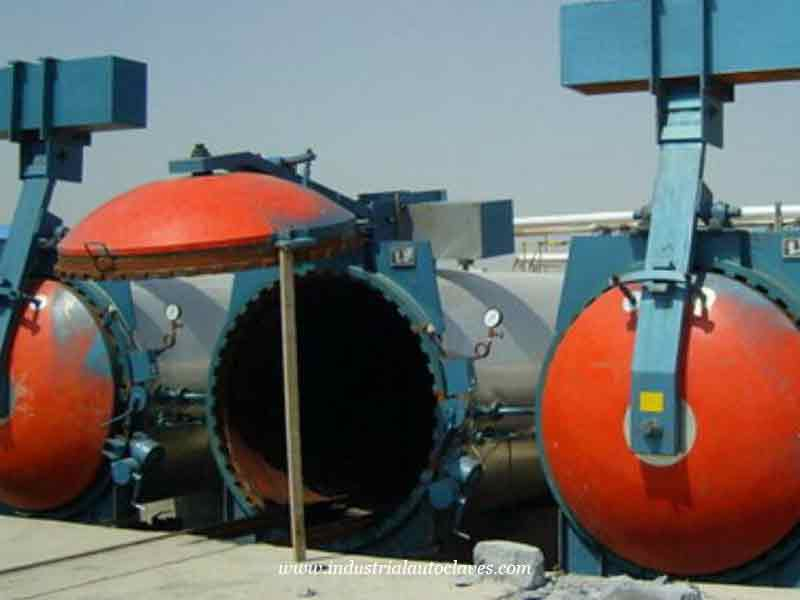 Aerated Concrete Block Autoclave Will Be Exported to Cambodia